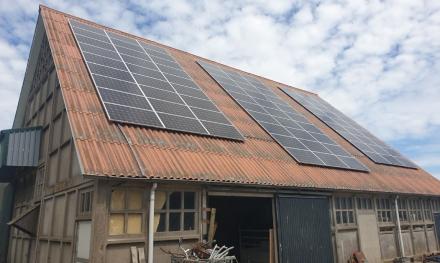 Zonnepanelen project Zevenhuizen